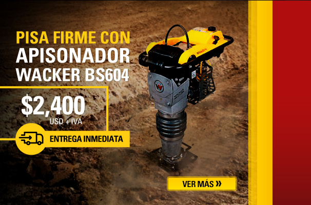 ​Apisonador Wacker en remate